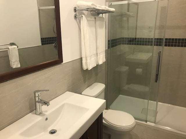 Salle de bain hotel mustang