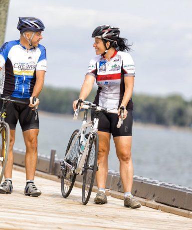 Bécancour, la région pour les amateurs de vélo!